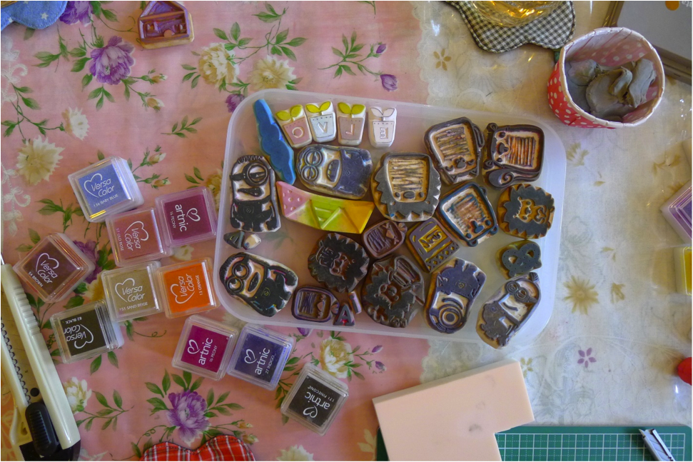 Master the craft of rubber stamp making in singapore for Custom craft rubber stamps