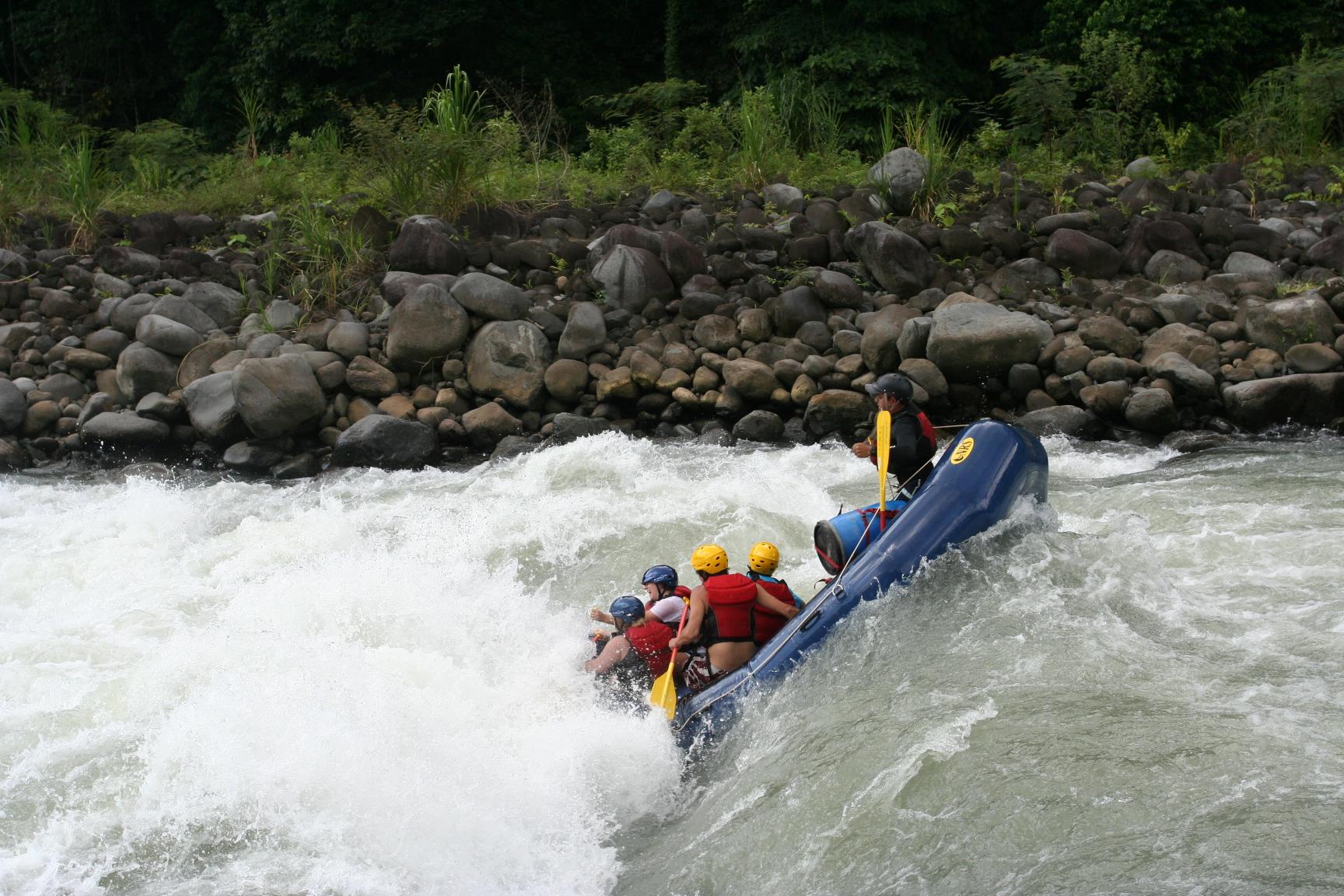 Rafting in Bali: White Water, Big Adventure