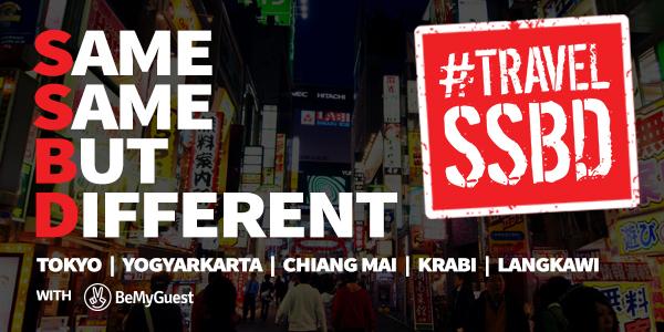 #TravelSSBD: Same Same But Different